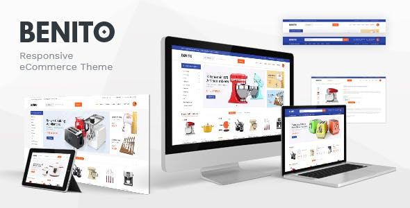 Benito - Mega Store Responsive Prestashop Theme