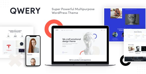 Qwery - Multi-Purpose Business WordPress Theme