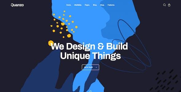 Quanzo - Personal Portfolio WordPress Theme