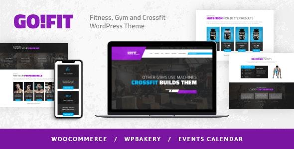 GoFit! | Fitness, Gym and Crossfit WordPress Theme - Health & Beauty Retail