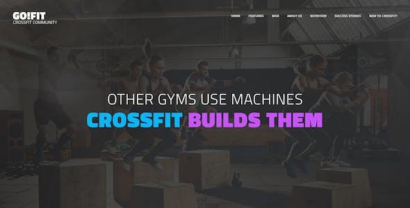 GoFit! | Fitness, Gym and Crossfit WordPress Theme