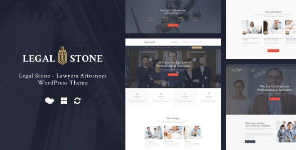 Legal Stone   Lawyers & Attorneys WordPress Theme - Business Corporate