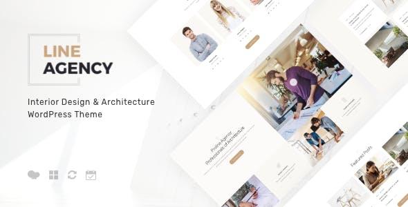 Line Agency | Interior Design & Architecture WordPress Theme