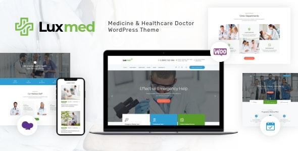 LuxMed   Medicine & Healthcare Doctor WordPress Theme - Health & Beauty Retail