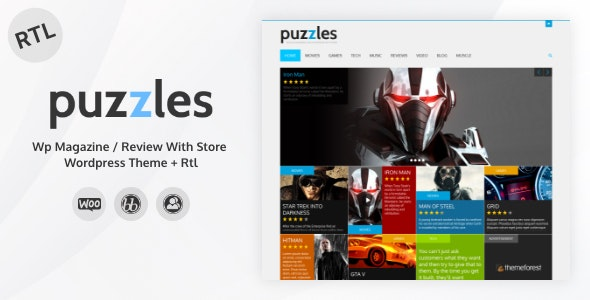 Puzzles | WP Magazine / Review with Store WordPress Theme + RTL - News / Editorial Blog / Magazine