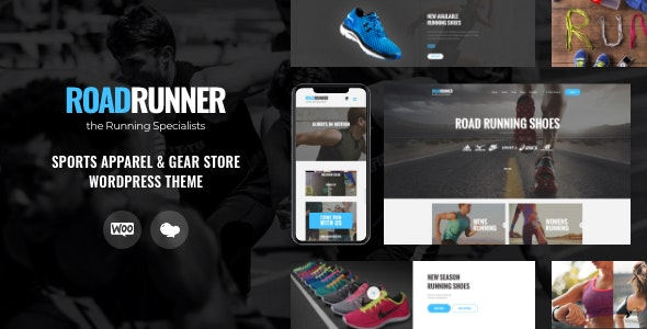 Run Gran   Sports Apparel & Gear Store WordPress Theme - WooCommerce eCommerce