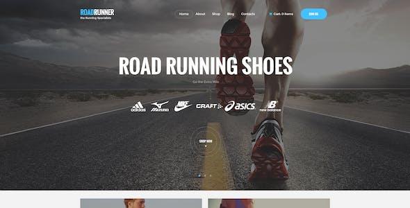Run Gran   Sports Apparel & Gear Store WordPress Theme