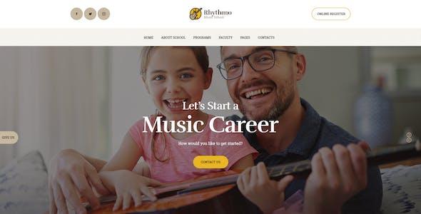Rythmo | Arts & Music School WordPress Theme