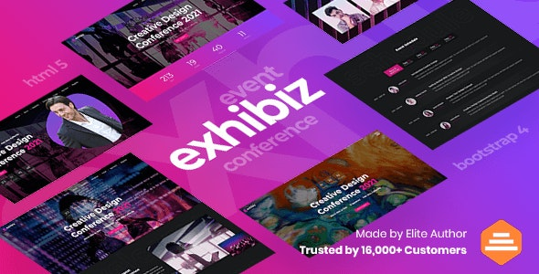 Exhibiz - Event, Conference and Meetup - Events Entertainment