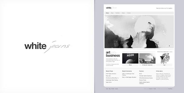 White Jeans - Premium WordPress Theme - Portfolio Creative