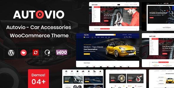 Autovio - Car Accessories WooCommerce Theme - WooCommerce eCommerce