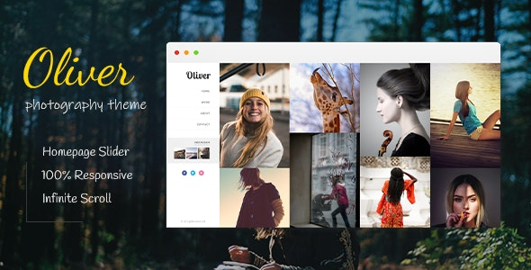 Oliver | Photography Blogger Theme - Blogger Blogging