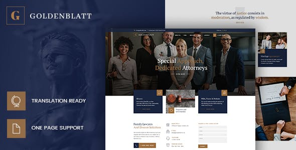 Goldenblatt - Lawyer, Attorney & Law Office