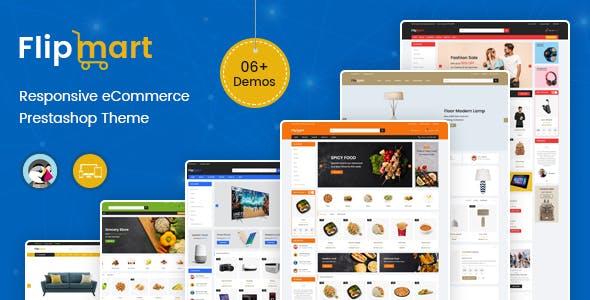 Flipmart - Supermarket Prestashop Theme