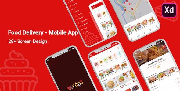 Fudu - Food Delivery Mobile UI Kit
