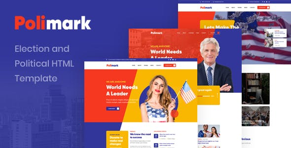 Polimark - Election and Political HTML Template