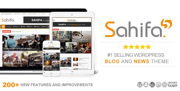Sahifa v5.7.4 – news / blog WooCommerce template on WordPress