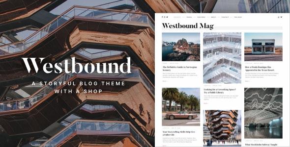 Westbound — A Storyful WordPress Blogging Theme - Personal Blog / Magazine