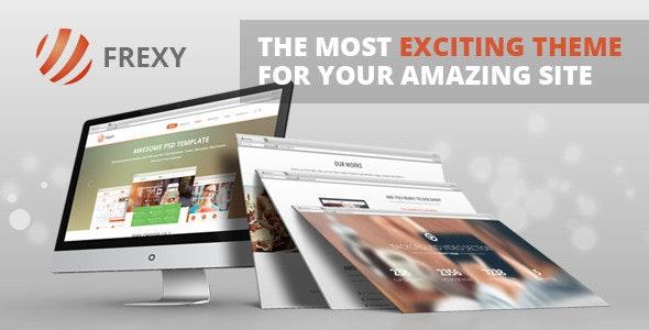 Frexy - Responsive Multi-Purpose WordPress Theme - Corporate WordPress