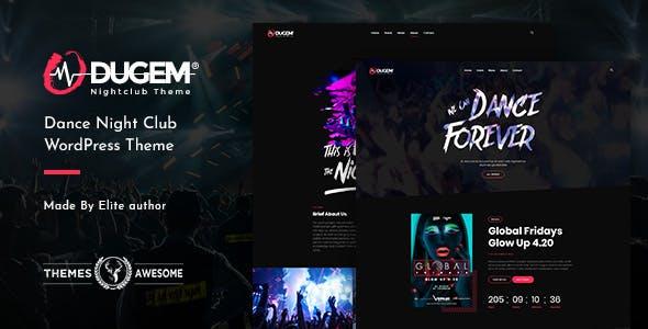 Dugem | Dance Night Club WordPress Theme
