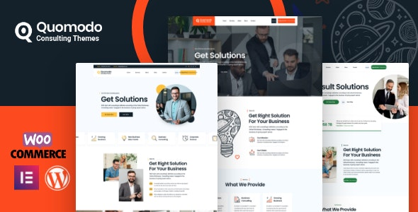 Quomodo – Business Consulting WordPress Theme - Business Corporate