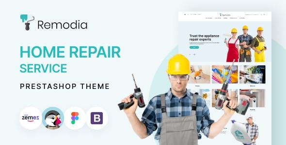 Remodia - Home Repair Service PrestaShop Theme