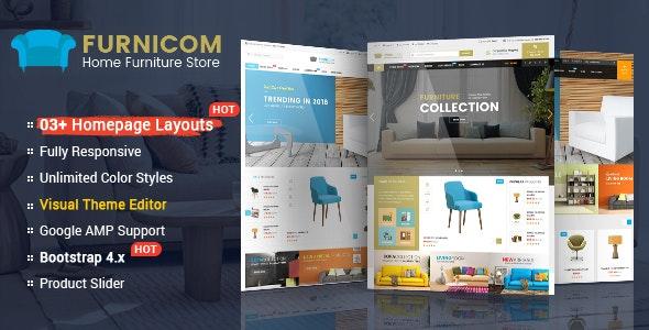 Furnicom - The Interior, Architecture and Furniture BigCommerce Theme - BigCommerce eCommerce