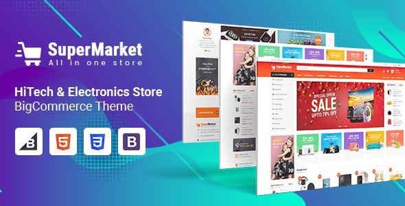 SuperMarket - Multipurpose Creative  BigCommerce Theme - BigCommerce eCommerce