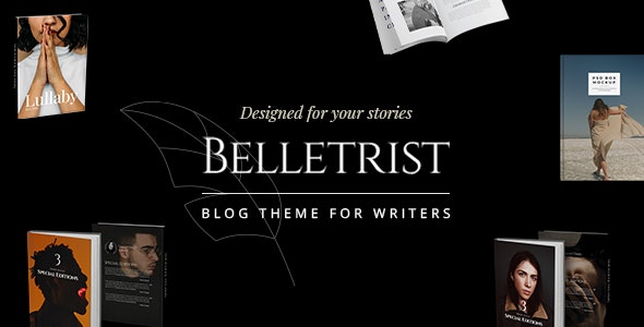 Belletrist - Blog Theme for Writers by Edge-Themes | ThemeForest