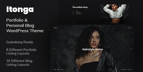 Itonga - Portfolio & Personal Blog WordPress Theme - Portfolio Creative