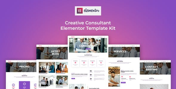 Own - Creative Consultant Elementor Template Kit