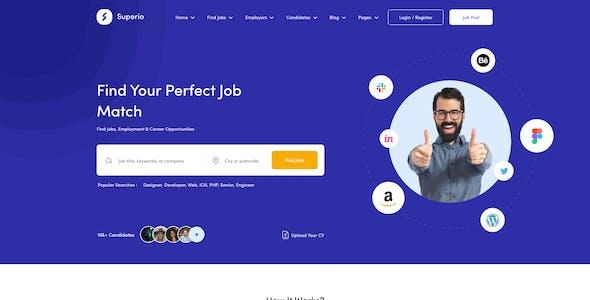 Superio - Job Board Figma Template