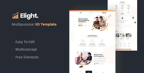 Elight – Multipurpose XD Template