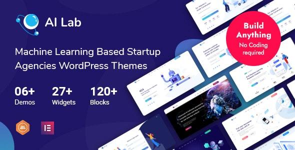 AI Lab - Machine Learning WordPress Theme - Technology WordPress