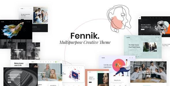 Fennik v1.0.6 – Multipurpose Creative Theme