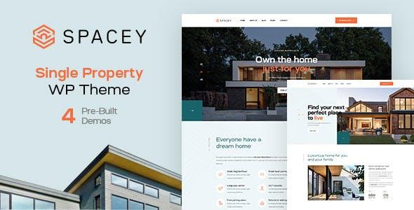 Spacey - Single Property WordPress Theme
