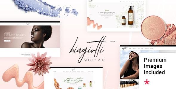 Biagiotti - Beauty and Cosmetics Shop - WooCommerce eCommerce
