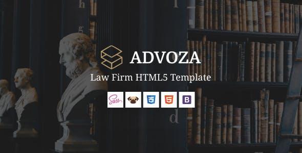 Advoza - Law Firm HTML5 Template