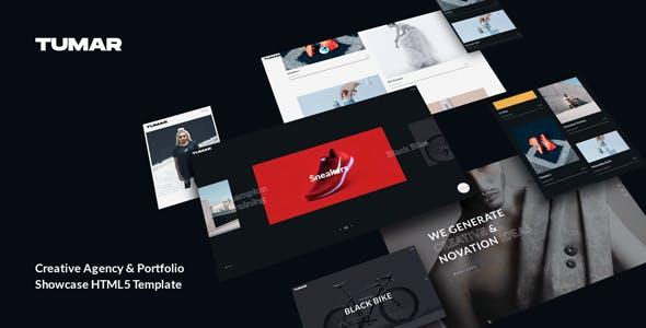 Tumar - Creative Agency Portfolio HTML5 Template
