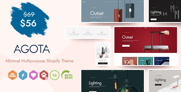 Agota - Multipurpose Sections Shopify Theme - Shopping Shopify