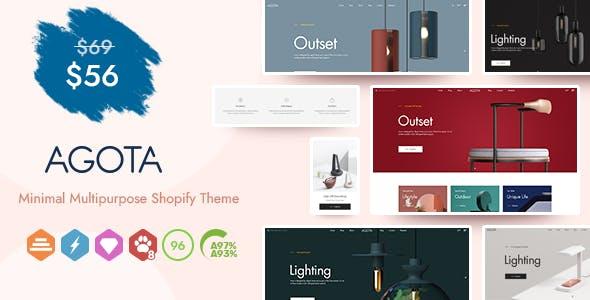 Agota - Multipurpose Sections Shopify Theme