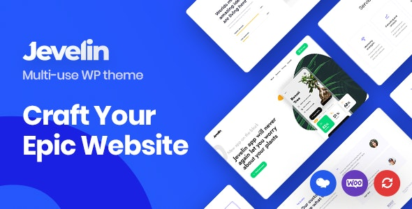 Jevelin | Multi-Purpose Responsive WordPress AMP Theme - Creative WordPress