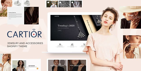Cartior - Jewelry And Accessories Responsive Shopify Theme