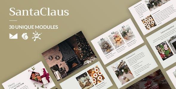SantaClaus Email-Template + Online Builder