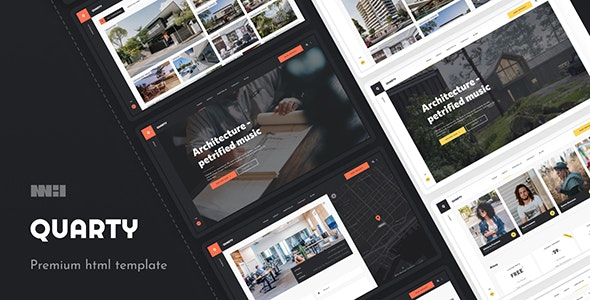 Quarty - Architecture & Interior Design - Creative Site Templates