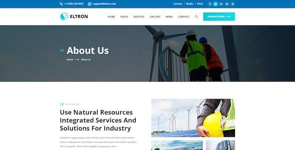 Eltron - Alternative Energy Figma