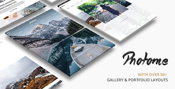 PhotoMe | Portfolio WordPress - Photography Creative
