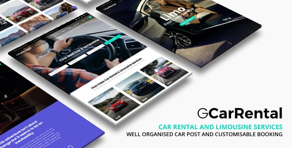 Grand Car Rental | Limousine WordPress - Business Corporate