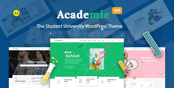 Academie - Education WordPress Theme - Education WordPress