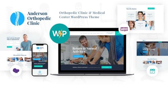 Anderson | Orthopedic Clinic & Medical Center WordPress Theme - Health & Beauty Retail